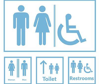 Vektörel Tuvalet Simgeleri İndir