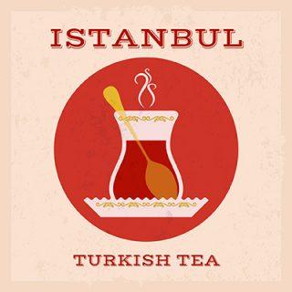 Vektörel İstanbul Turkish Tea İndir