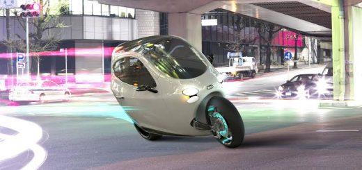 Devrilmeyen İki Tekerlekli Otomobil