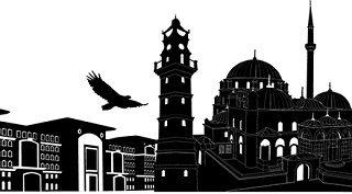 vektörel yozgat şehir silüeti