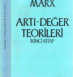 ARTI-DEGER TEORiLERi - KARL MARX