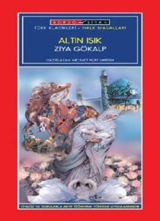 Altın Işık - Ziya Gökalp - PDF Kitap İndir