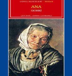 Ana - Maksim Gorki - PDF Kitap İndir