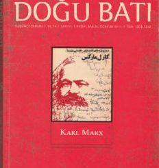 Doğu Batı, s. 55, Karl Marx, Kasım-Aralık-Ocak 2010-11