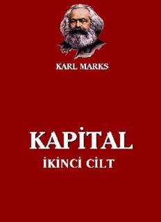 Kapital, Cilt II - Karl Marx
