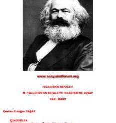 Karl Marx, Felsefenin Sefaleti