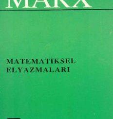 Matematiksel Elyazmaları - Karl Marx