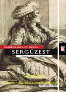Sami Paşazade Sezai - Sergüzeşt