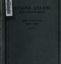 Evliya Çelebi seyahatnamesi - PDF Kitap İndir