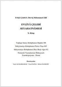Evliya Çelebi seyahatnamesi yeni baskı 10. Kitap