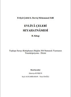 Evliya Çelebi seyahatnamesi yeni baskı 2. Kitap