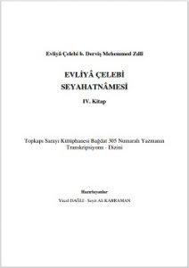 Evliya Çelebi seyahatnamesi yeni baskı 4.Kitap