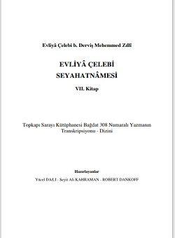 Evliya Çelebi seyahatnamesi yeni baskı 7. Kitap