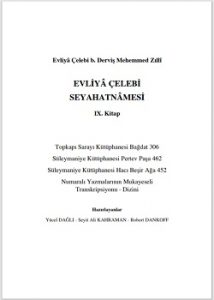 Evliya Çelebi seyahatnamesi yeni baskı 9. KitapEvliya Çelebi seyahatnamesi yeni baskı 9. Kitap