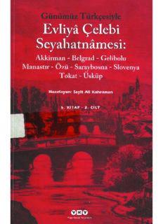 Günümüz Türkçesi ile Evliya Çelebi Seyahatnamesi 5.Kitap 2.Cilt - PDF Kitap İndir