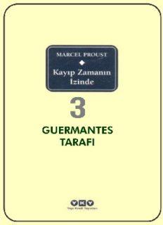 Kayıp Zamanın İzinde 3 - Guermantes Tarafı - Marcel Proust - PDF Kitap İndir