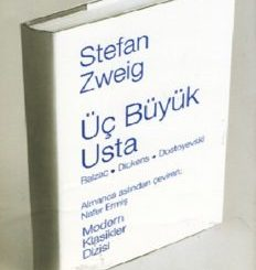 Üç Büyük Usta (Balzac, Dickens, Dostoyevski) - Stefan Zweig - PDF Kitap İndir